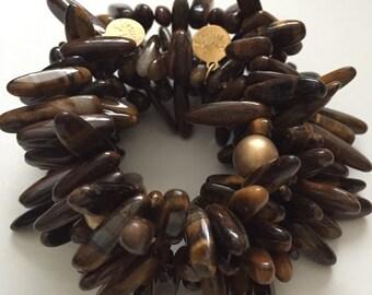 Brown Spike Bracelet