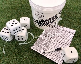 Yardzee Bucket