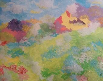 Heaven and Earth  16x20 giclee print