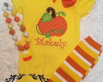 girls pumpkin shirt, fall shirt, halloween shirt, thanksgiving shirt, girls shirt