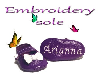 Additional Embroidery/Design/Applique for Butterfly Your World moccasins