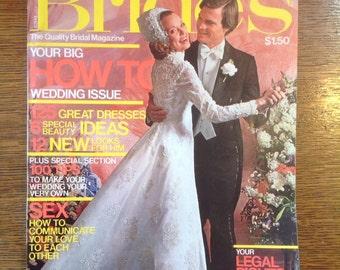 Brides Magazine  August/September 1975