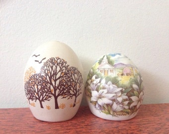 2 sets of egg S&P shakers