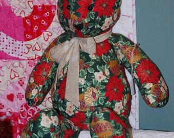 10% off Christmas Sale Stuffed Christmas Teddy Bear