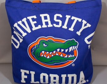 Tote Bag-Florida Gators-Blue-Orange-University of Florida