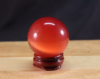 Sphere Asian Red Cats Eye #170