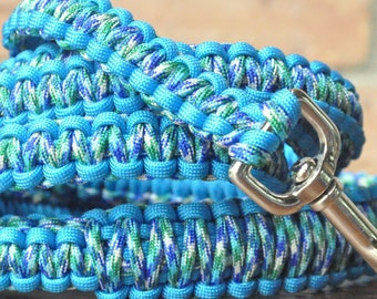Peacock and Blue 6ft Dog Leash