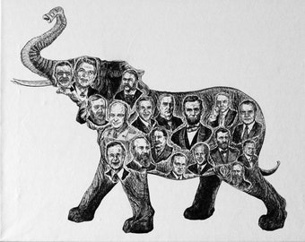 GOP - The Funky Bunch Print