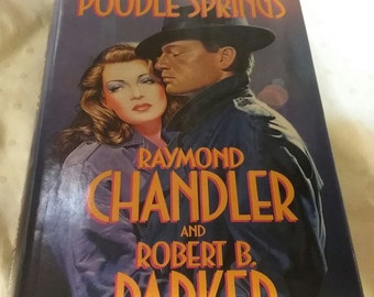 Book Novel- Poodle Springs...Coffee Table Edition Set Mood for Art Deco 1930's or 40's