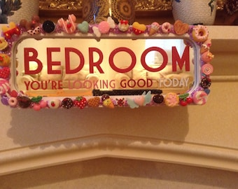 WINTER SALE! Bedroom Plaque/Sign