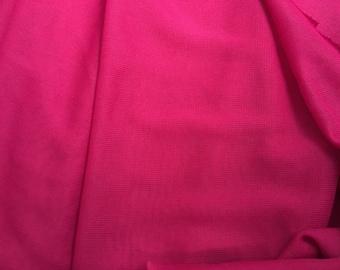 "Fuchsia Stretch ""Mesh"", innovative fabric, made of nylon, fine quality, 72 inches wide, a 3 yard piece"