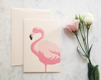 Blush Flamingo Notecard Set