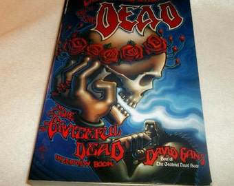 GRATEFUL DEAD Book Conversations With The Dead David Gans 1993 Jerry Garcia, Bob Weir, Tour Stories, Gift for a Deadhead Fan