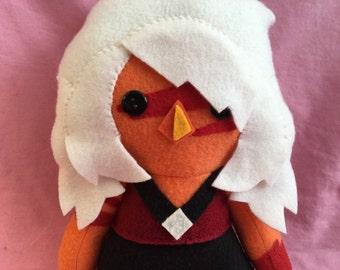 Jasper Steven Universe Crystal Gem Fleece Plush Doll