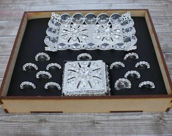Elegant and Sparkling Arras, Arras de Boda, Wedding Coins, Wedding Unity Coins, Arras para boda