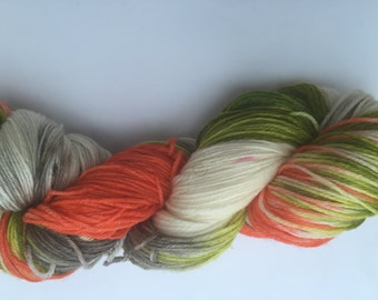 """Hand Dyed Yarn """"Just Peachy"""""""