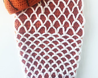 Hand Knitted- Basketball Cocoon Set