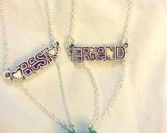 Avacado bestfriends necklaces vegan