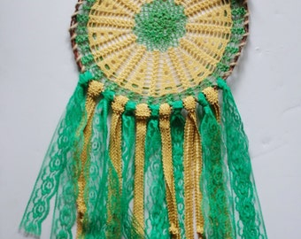 Yellow & Green Dreamcatcher
