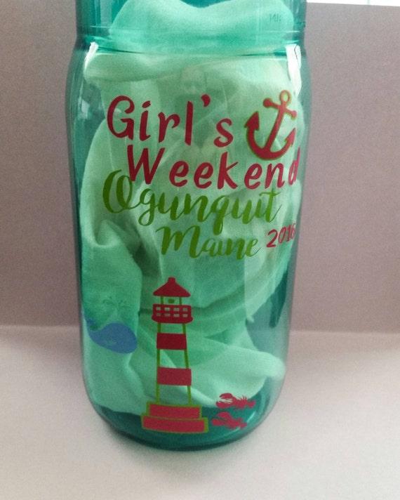 Personalized plastic mason jars bella jar plastic mug with for Custom cosmetic jars