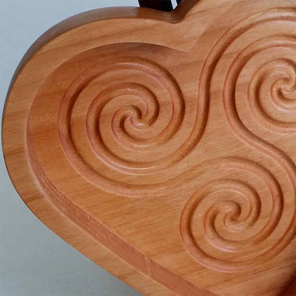 Triskelion Labyrinth, Zen Labyrinth, Sand Labyrinth, Heart Labyrinth, desktop labyrinth, meditation tool, Infinite Loop