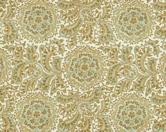Shower curtain Fabric Shower Curtain Monroe Snowy blue Grey