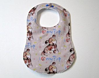 Baby Bib / Reversible baby bib / 0-24 months