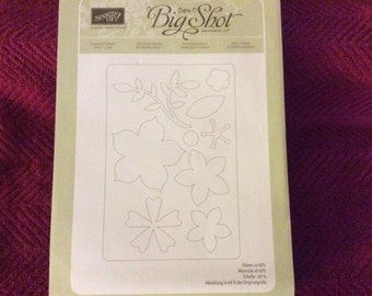 Stampin Up/Flower Frenzy Big Shot