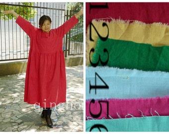loose women Cotton /Linen Dress Oversized  Women's  Dress plus size  Dress  Linen  Large dress, Maternity dress