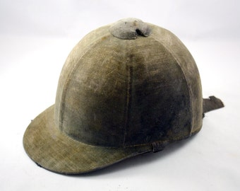 Vintage riding helmet hat Pytchley by Phillips & Piper Made in England 50s/60s