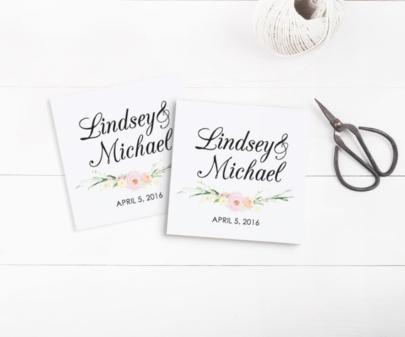 Wedding Favor Tags Template Word : Printable Wedding Tags template, Favor Tags, Invitation Tags, Editable ...