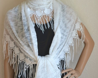 Handmade women's shawl