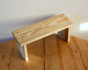 Wooden Prayer Stool - Meditation Kneeling Bench - Kneeling Prayer Wood Bench - Knee Chair - Kneeler - Prayer bench - banc de méditation