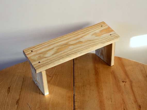 Wooden Prayer Stool Meditation Kneeling Bench Kneeling