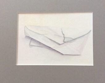 Crinkled Envelope