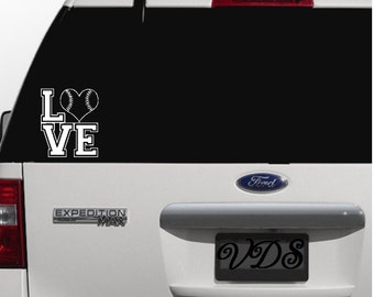 Baseball Car Decal Softball Car Decal Baseball Life - Custom car decals baseball