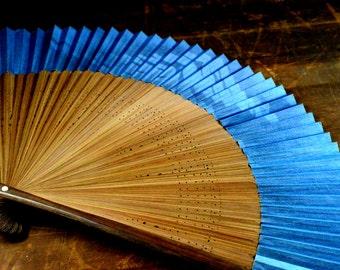 Hand fan - Japanese fan - Antique folding fan - Japanese hand fan - Japanese folding - Fan Japanese - Fan antique - Fan dancing
