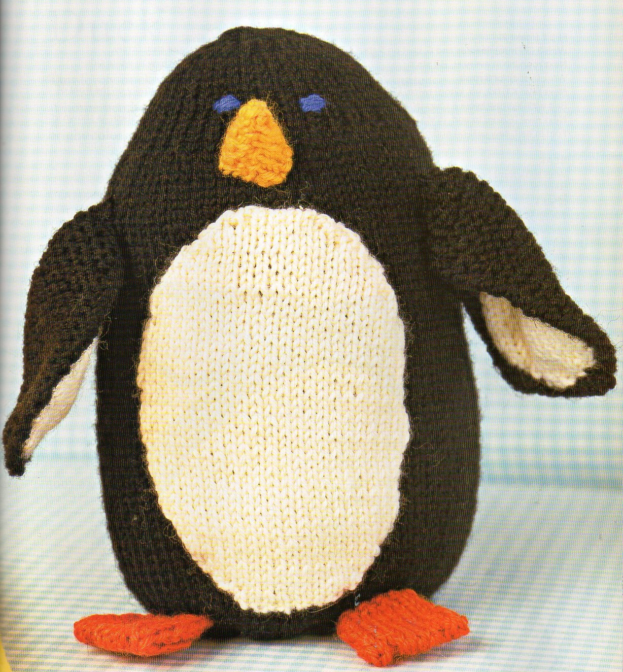 Penguin amigurumi knitting pattern animal toy pillow penguin this is a digital file bankloansurffo Images