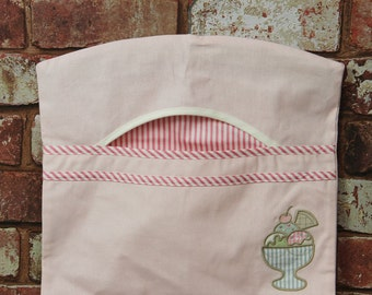 Beautiful Ice Cream Peg Bag