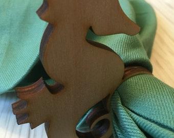 Nautical napkin rings - Napkin Rings - Wooden Napkin Ring