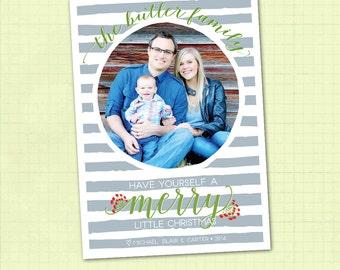Photo Christmas Card / Photo Holiday Card / Digital Christmas Card / Digital Holiday Card / Merry Christmas Card / Happy Holidays Card