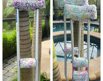 Blossom Bloom Crutch Covers