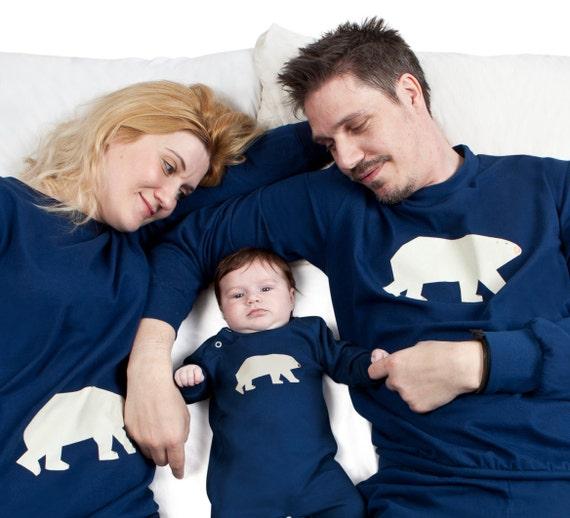 Family Christmas Pyjamas Polar Bear print
