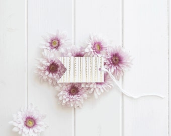 Gold Foil Decorative Gift Tags
