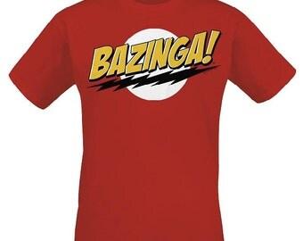 Bazinga Big Bang Theory Sheldon Cooper T-Shirt