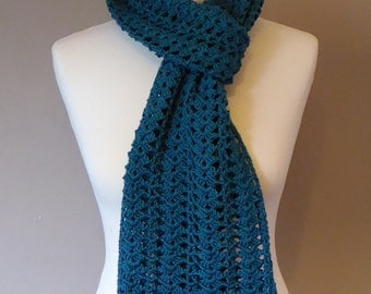 Dark Teal Scarf
