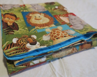 Baby Blanket Zoo Friends