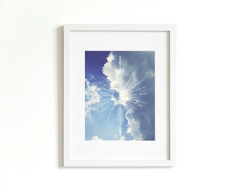Silver Lining Geometric Print | Indie Art Print | Fine Art Photography