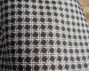 Tootal 1960's Brown Patterned Cravat