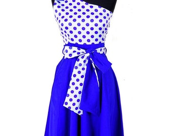 Pinup Retro Dress 50s Fashion Polka Dress